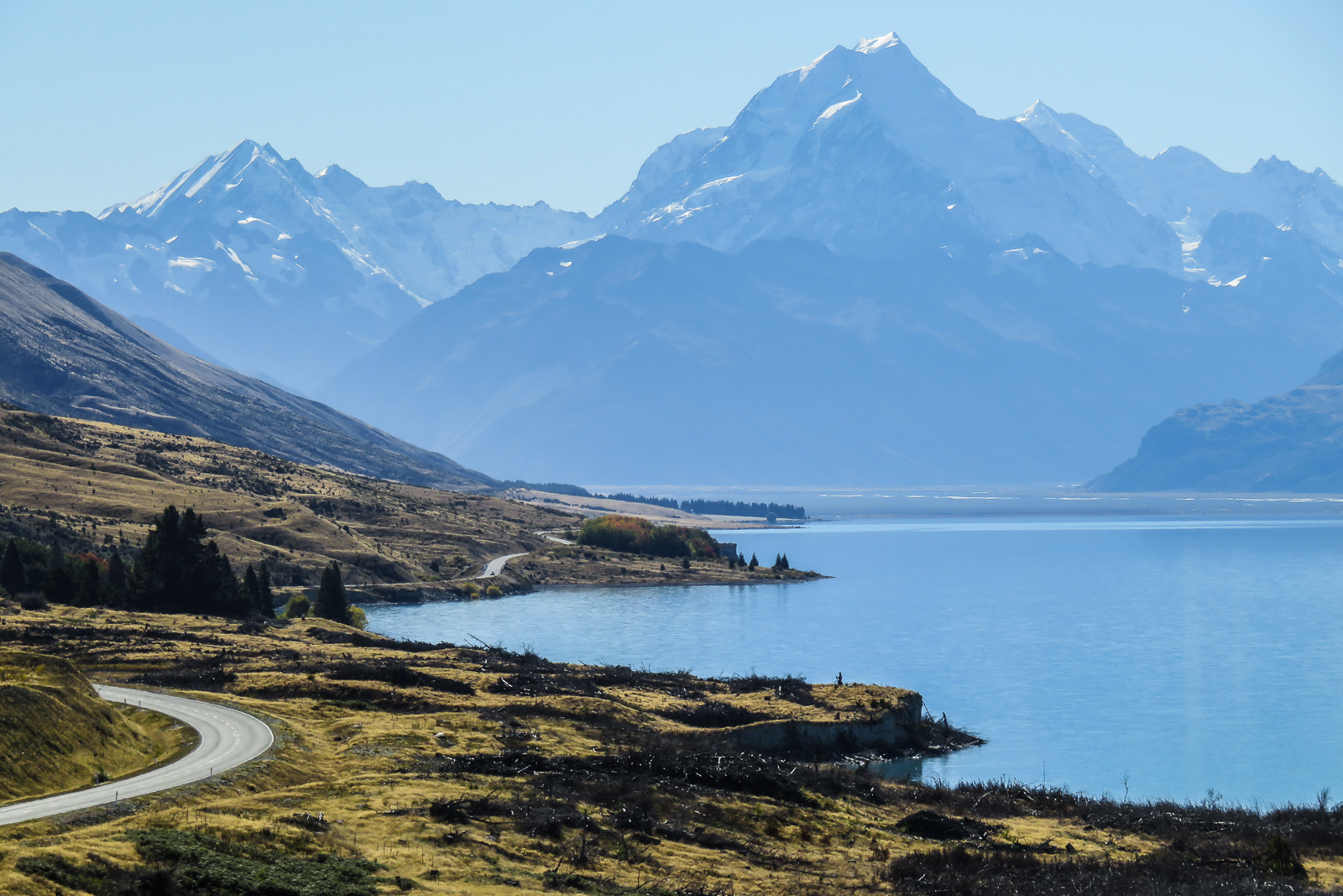 Flying To South Island New Zealand