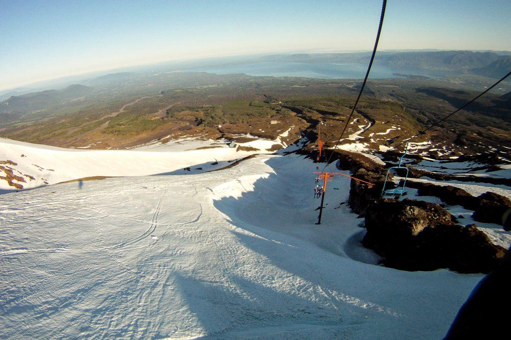 Villarrica Volcano Ski Lift