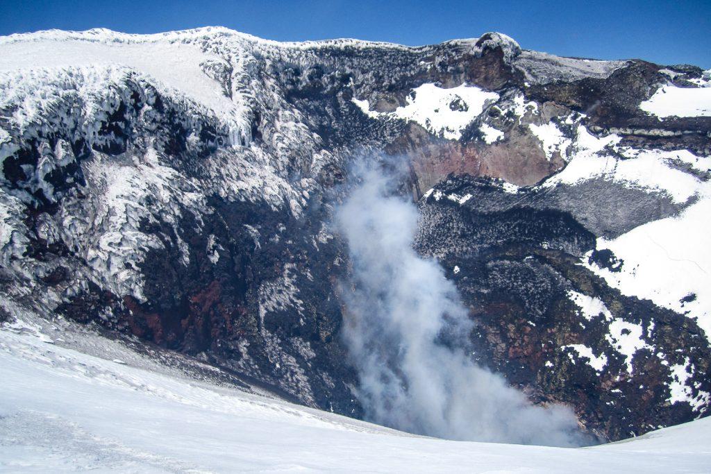 Villarrica Volcano Summit Crater