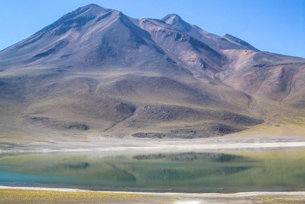 Laguana Miniques, Altiplano Lake, San Pedro de Atacama