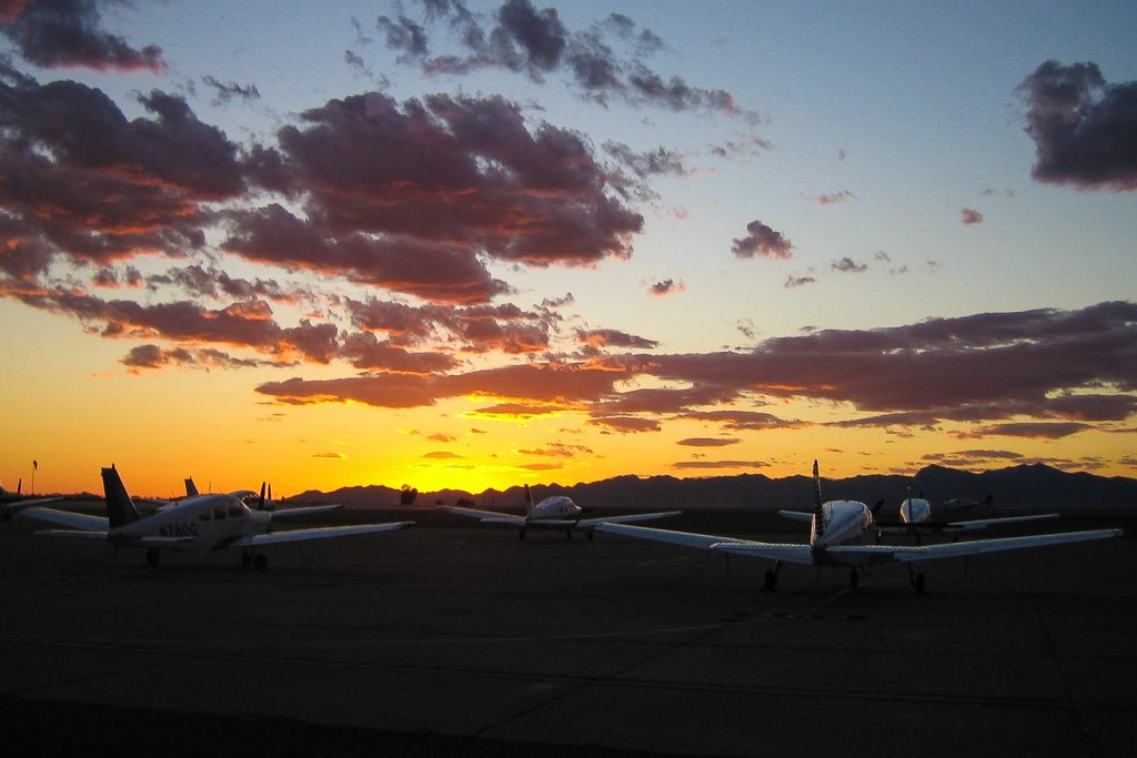 Dawn at Flight School