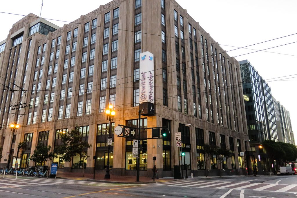 Twitter HQ in San Francisco