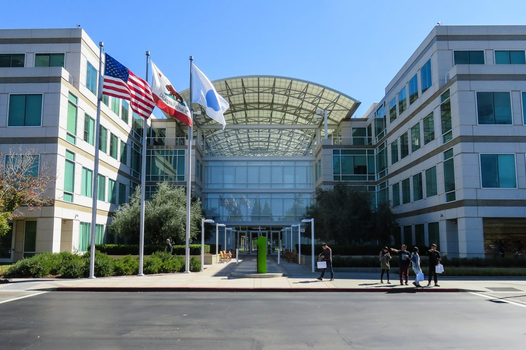 Apple Campus at Infinity Loop