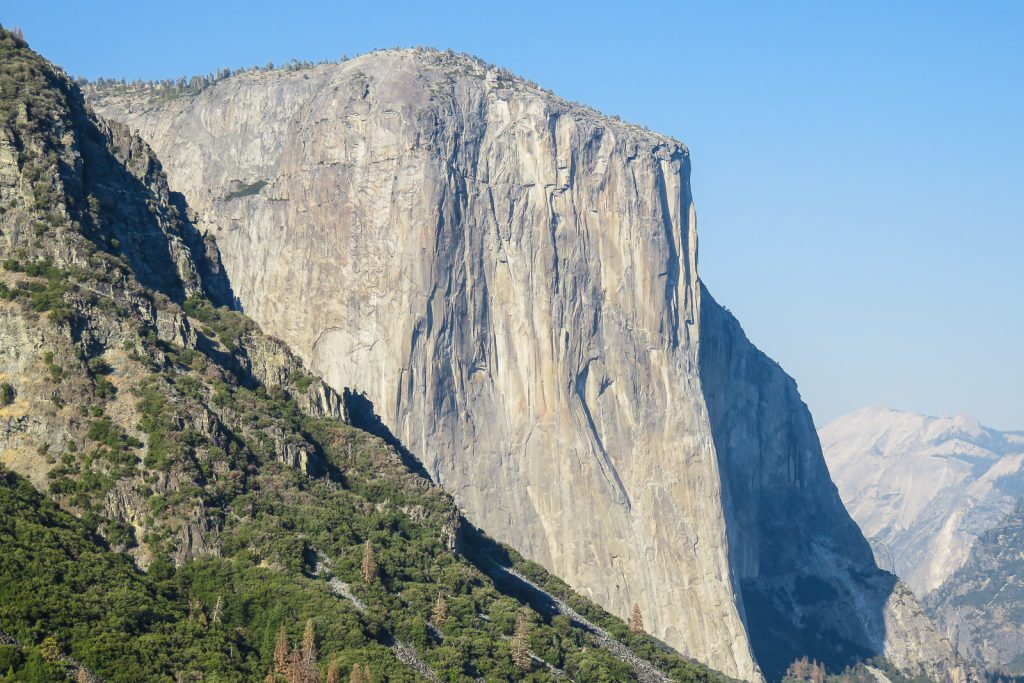 El Capitan from Yosemite Valley Tunnel View