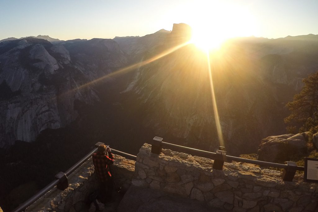 Glacier Point Sunrise in Yosemite