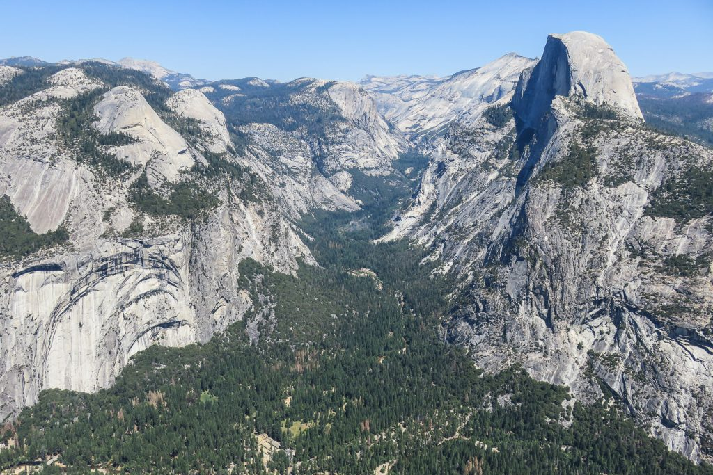 Views from Glacier Point
