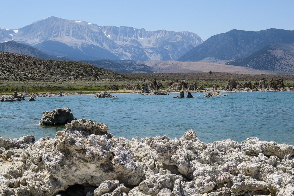 Volcanic Cones at Mono Lake