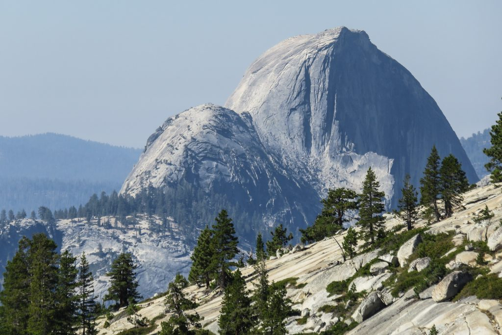 View of Half Dome from Olmsted Point