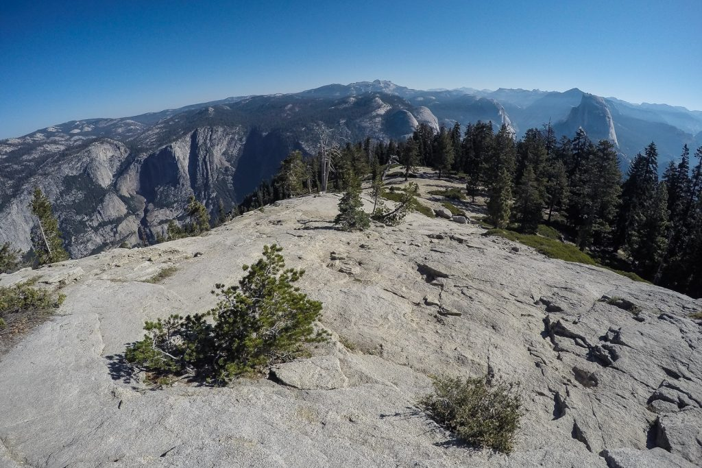 Panormaic view from Sentinel Dome