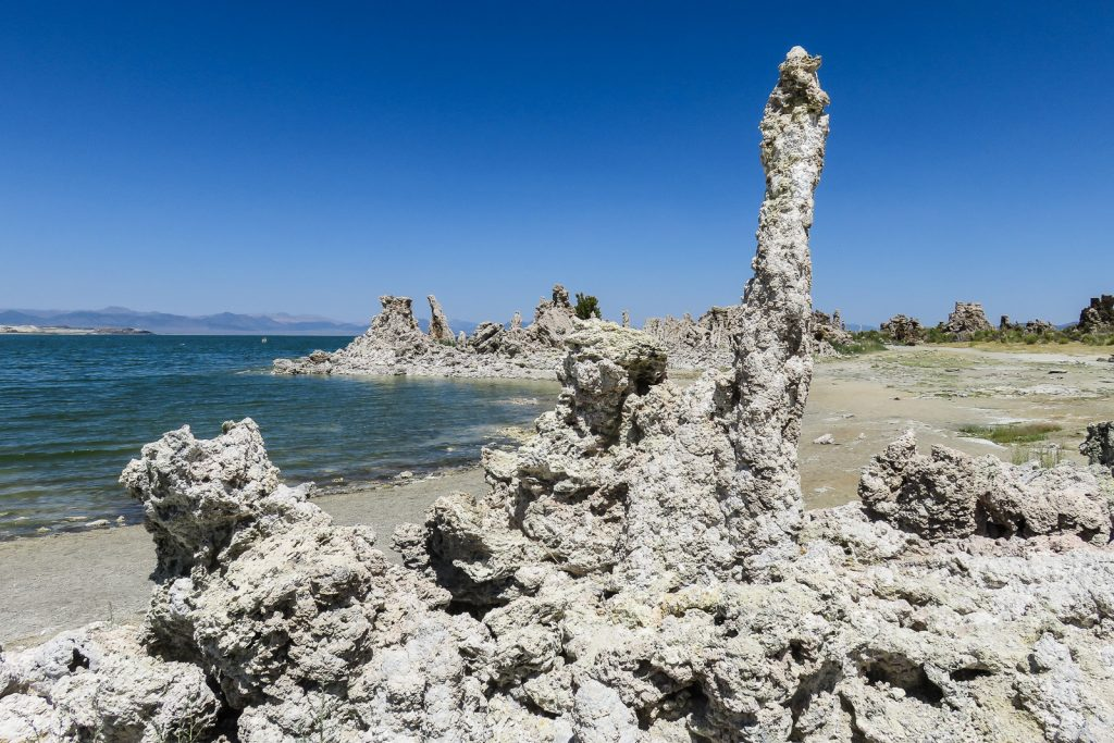 Tufa are Young Volcanic Cones found at Mono Lake