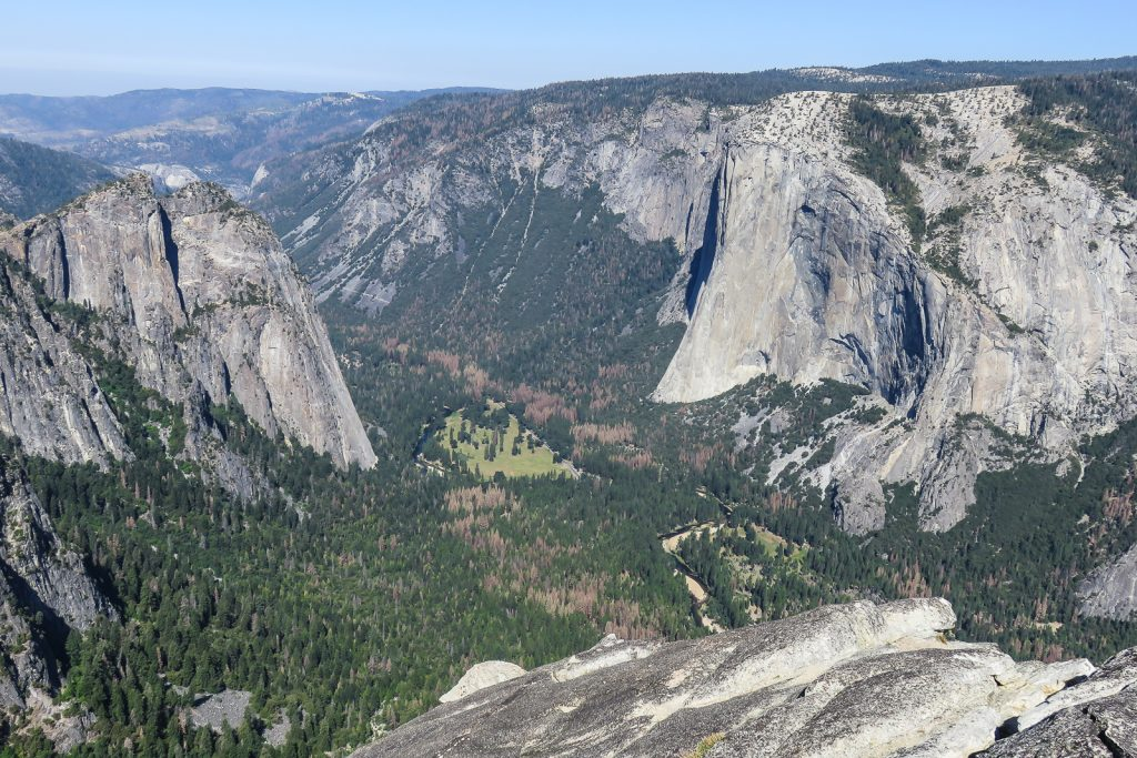 Yosemite Valley view from Taft Point
