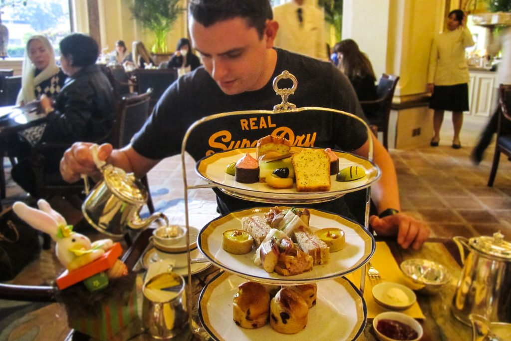 The Peninsula Hotel Afternoon English Tea. things to do in hong kong