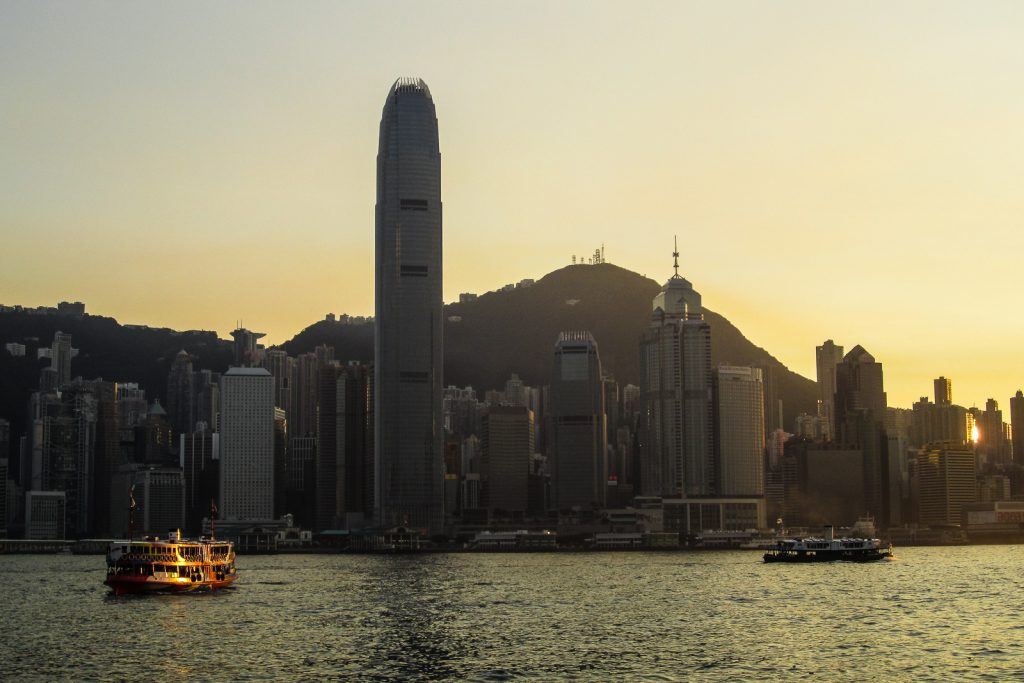 Crossing Hong Kong Victoria Harbour by Star Ferry. Top things to do in Hong Kong.