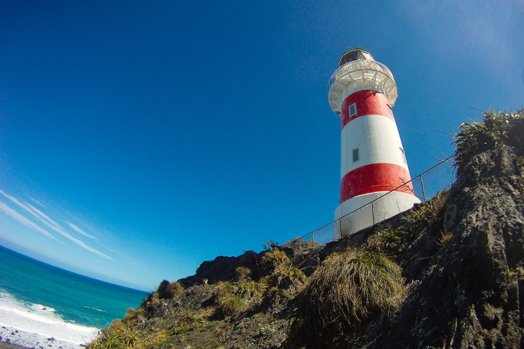 Cape Palliser Lighthouse, where to visit in New Zealand