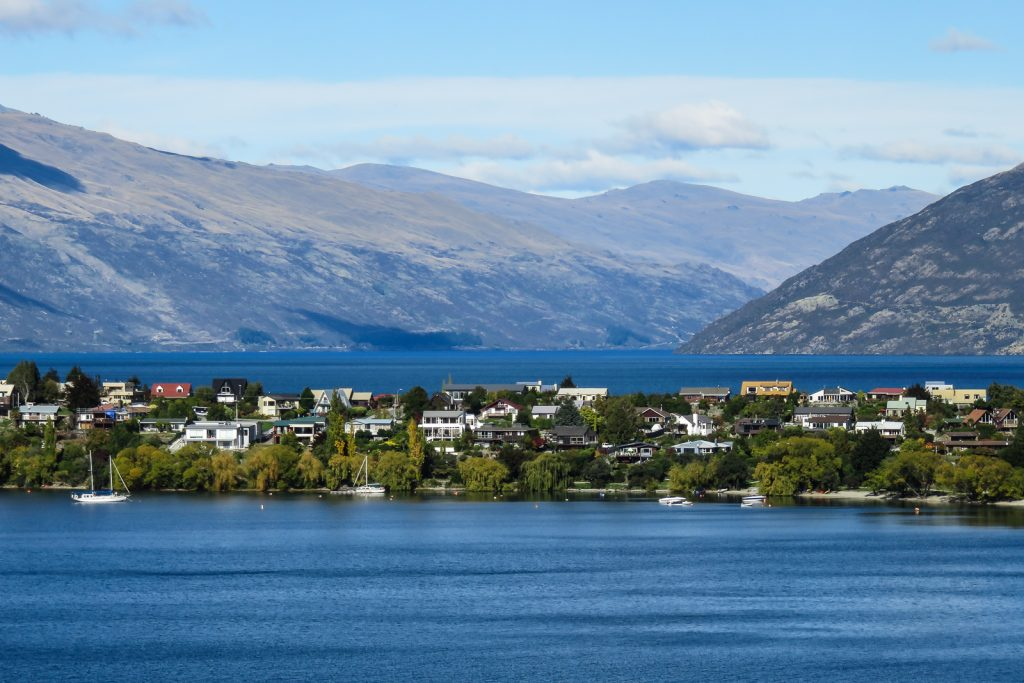 Queenstown Lake Wakatipu south island new zealand itinerary