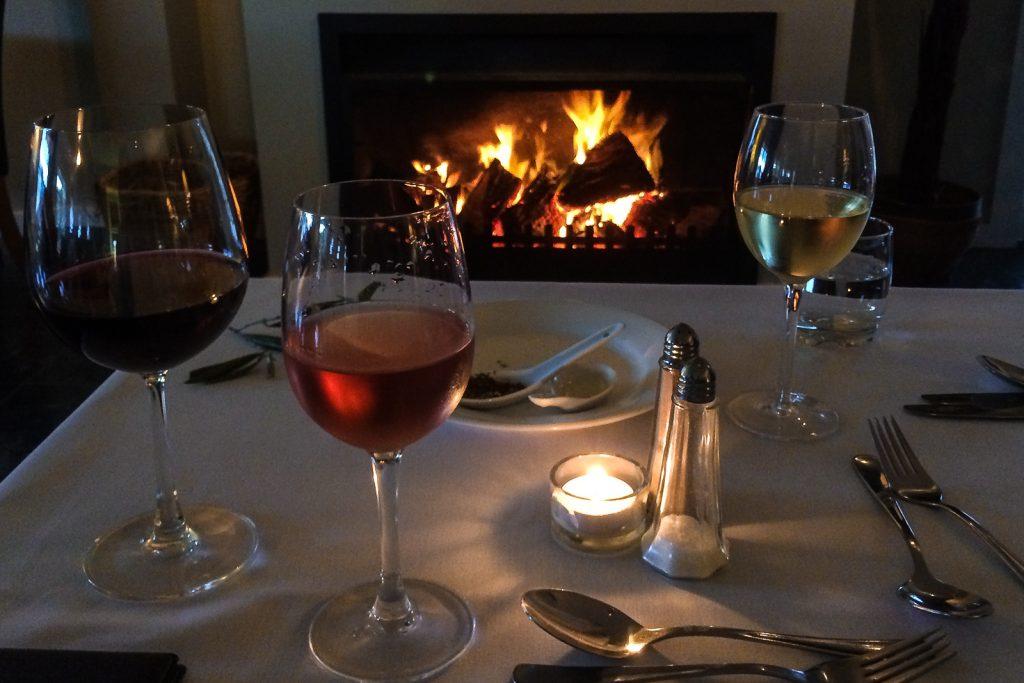 Dining in Martinborugh, New Zealand WIne