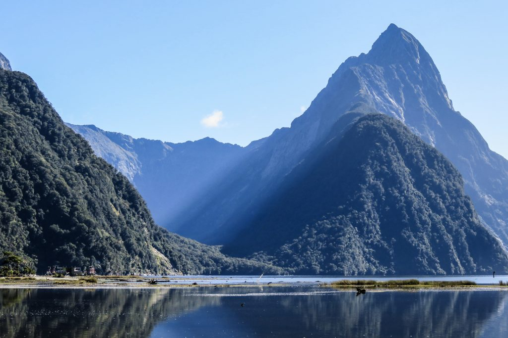 Mitre Peak, , Milford Sound tours and Milford Sound cruise from Te Anau