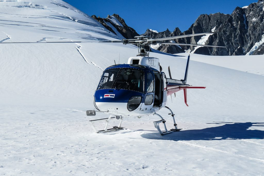 Glacier Helicopters New Zealand Franz Josef and Fox Glacier, South Island Itinerary