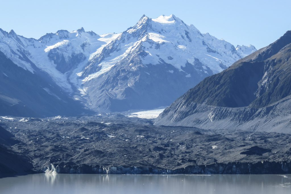 Tasman Glacier Icebergs, Tsmand Lake, Mount Cook National Park, Aoraki