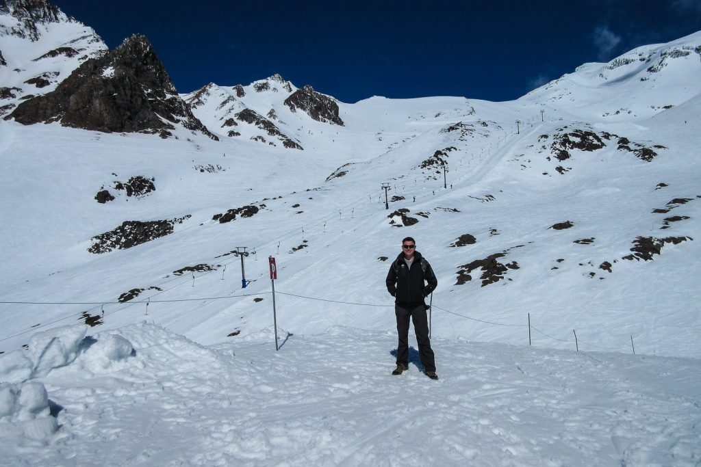 Mark at Whakapapa Ski Area, New Zealand ski resorts