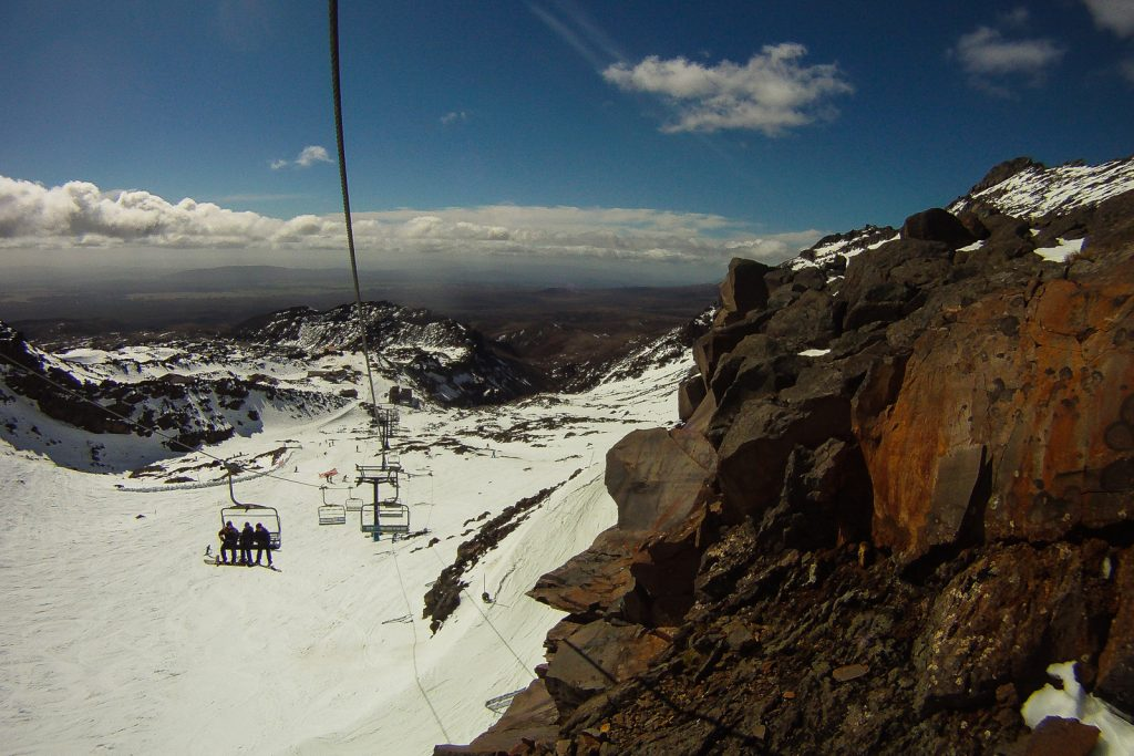 Whakapapa Ski Lift, New Zealand ski resorts