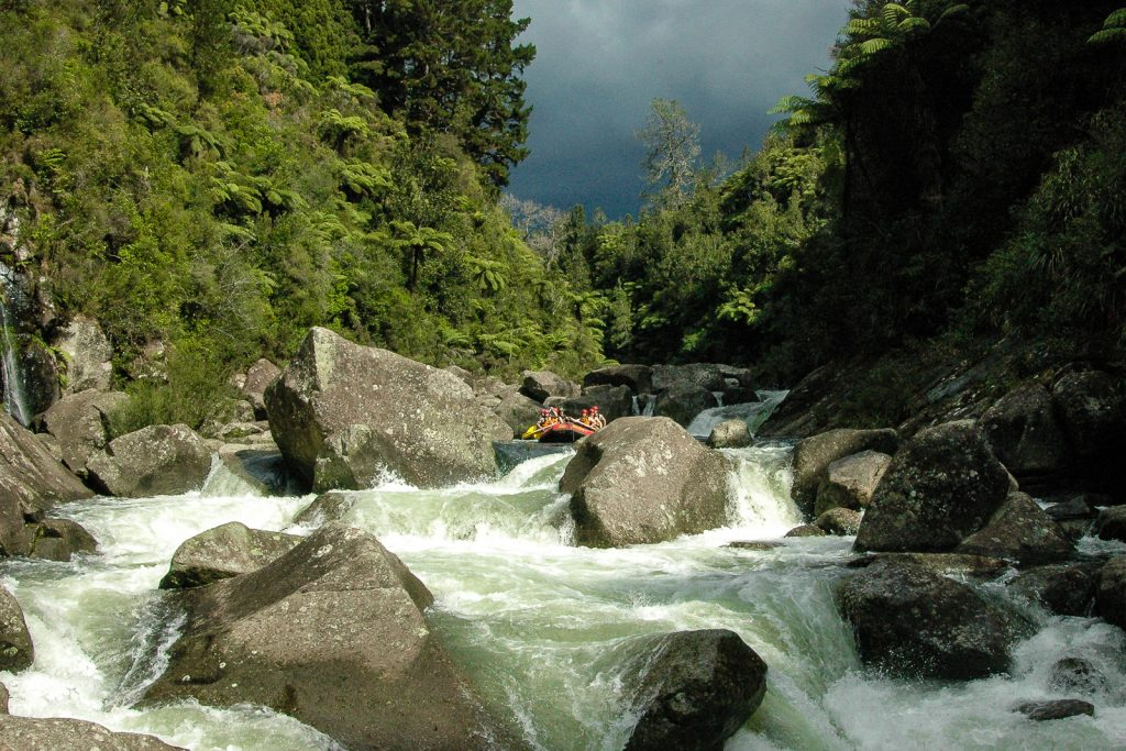 White Water Rating on the Wairoa Grade 5. New Zealands best whitewater rafting in north island. Hydro-controlled river means this is only available to raft once every 2 weeks. Whitewater rafting in Rotorua.
