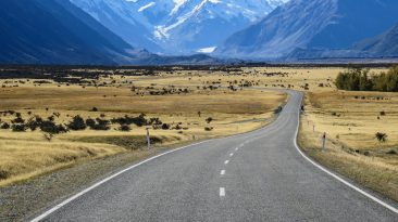 Mt Cook National Park and Tasman Glacier, South Island Itinerary New Zealand