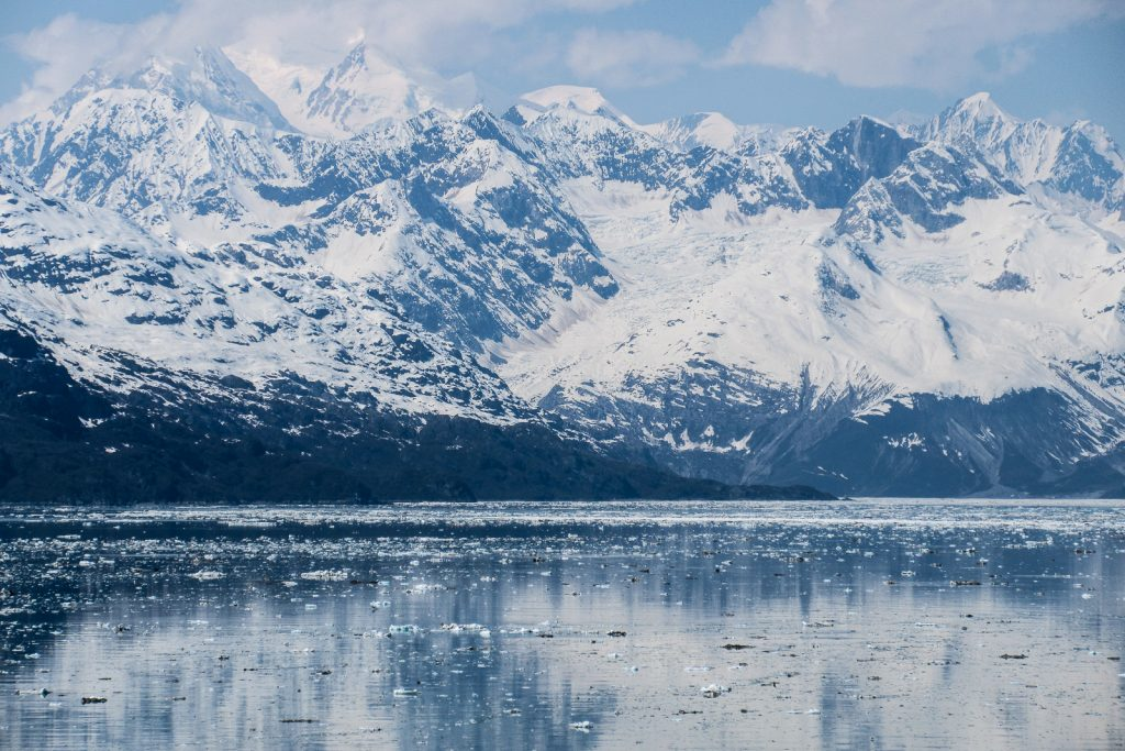 Alaska cruise through the Inside passage to Glacier Bay and Margerie Glacier